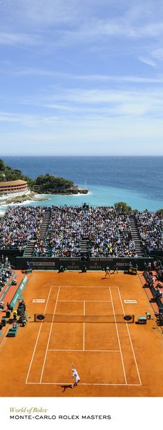 The Monte-Carlo Rolex Masters is a highlight on the ATP international tennis circuit, held in one of the most spectacular settings. #RolexOfficial