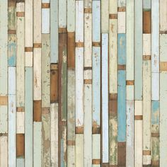 """NLXL - NLXL Piet Hein Eek Scrapwood Wallpaper PHE-03, 19"""" X 353.88"""" - Piet Hein Eek first developed an interest in old materials after restoring a cupboard for his sister; he thought the old wood looked nicer than the new. He has built his business around old materials, saving these discarded pieces of wood and working outside of the circuit of mass production. Piet Hein Eek's work is sold in numerous galleries worldwide. He has exhibited at such venues as the Museum of Modern Art, New York…"""