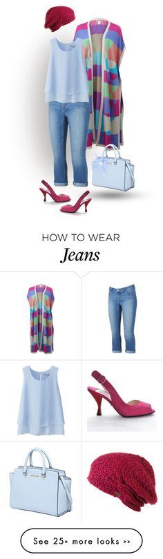 """""""Jeans - Colorful"""" by pastora-val on Polyvore"""