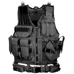 57445ffaeda  49.95 Tactical Body Molle Armour Vest 1  Online Exclusive - Not Available  In Stores