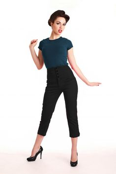 clothing from the 50s | TopVintage » Clothing » Pants & Playsuits » Steady Clothing » 50s ...