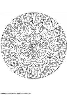 Coloring page mandala-1702u