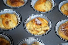Crescent Roll and Marshmallow Muffins for Kids