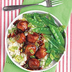 Obsessed with the slow cooker. Tangy Asian Meatballs are great for parties. Cook on high for 4 hours and you'll have an amazing app.