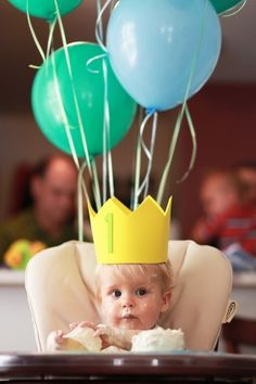 first birthday ideas ... just in case I ever accidentally have another ;)