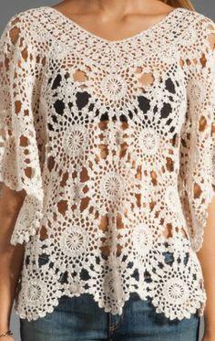 Favorite patterns - crochet tunic 4020c