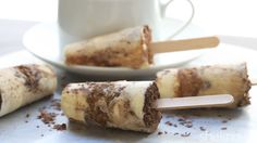 Channel your inner child and indulge in ice pops with a grown-up flavor — tiramisu