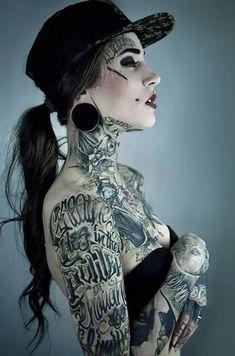 tattoos with selfie latina Amateur