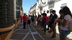 Conociendo la historia de #RocianadelCondado #SaboraHuelva @aunahorade  @grupoadarsa @Huelvagastro17 @Cruzcampo @AytoRociana @RedGuadalinfo @huelvaturismo @AytoHuelva @DipuHU