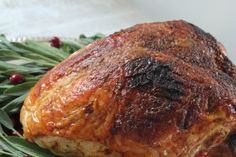 Smoked Sea Salt and Brown Sugar Crusted Turkey breast