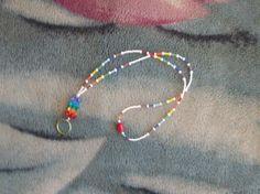 Multi colored Lanyard by glitterbygrammie on Etsy, $8.00