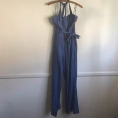 c623b50ea8af Elevenses Anthropologie - Chambray Jumpsuit 70 s Even Miley Cyrus has been  seen in this jumpsuit of