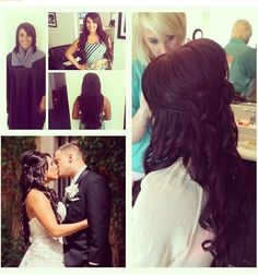 This will be my exact wedding hair :D Can't waittttt