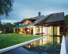 steep roof - modern take on crafts style