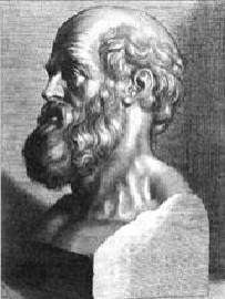 Ippocrate di Chio scrisse il primo manuale di geometria della storia (il suo testo anticipa di circa un secolo gli Elementi di Euclide)