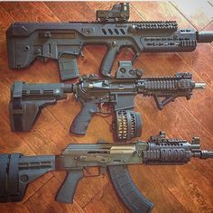 Tavor AR pistol and AK pistol  by weaponspage