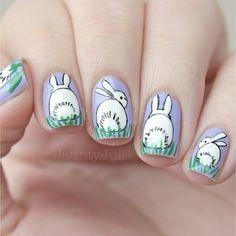 jauntyjuli easter #nail #nails #nailart