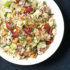 Bulgur Waldorf Salad (maybe sub quinoa?)