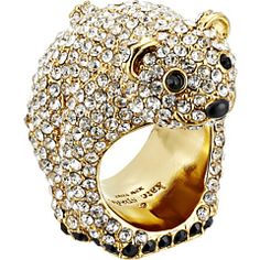 Kate Spade New York Polar Bear Ring at Couture.Zappos.com