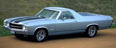 El Camino.  Find parts for this classic beauty at restorationpartssource.com.