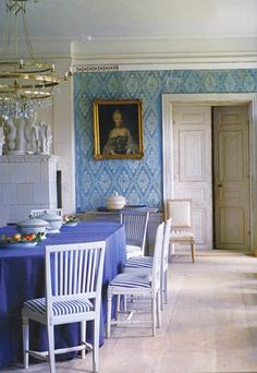 BEAUTIFUL BLUE- Part 1   Mark D. Sikes: Chic People, Glamorous Places, Stylish Things
