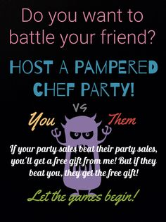 Pampered chef game