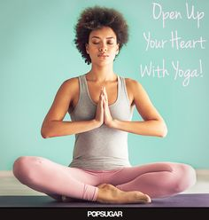 Open Your Heart For Valentine's Day With 6 Yoga Poses - Too much tension can get stuck at your heart's center — especially when you're feeling stressed out. Whether you're sitting at a desk during the workweek or having a tough time with a friend or partner, a few chest-opening yoga poses can make a huge difference for your mood. Get a little release with these six helpful poses; your body will thank you for it.