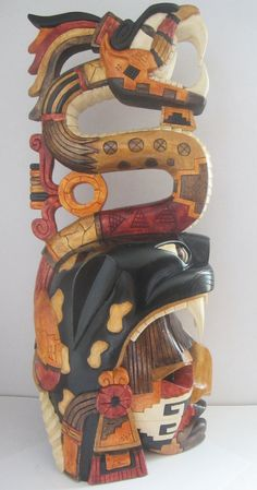 Made To Order Jaguar Warrior Plumed Serpent by TheFantasticAztec, $499.00