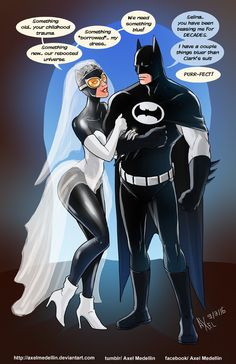 TLIID 281. Batman marries Catwoman by AxelMedellin.deviantart.com on @DeviantArt