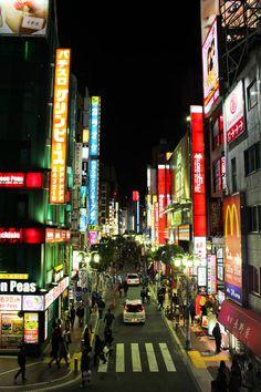 Shinjuku by lionbleu on deviantART