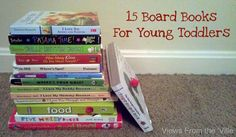 15 Board Books For Young Toddlers