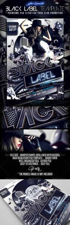 24 years Chop Records by Natalia Funariu #graphicdesign - hip hop flyer template