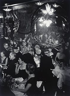 Moulin Rouge 1937  Brassai - really captured the ambience, beautifully shot indoor vintage