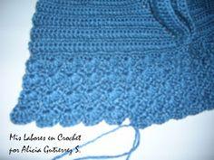 Mis labores en Crochet: Paso a paso del suéter para mascotas. Puppy Clothes, Dog Coats, Pet Shop, Animals And Pets, Crochet Hats, Diy Crafts, Embroidery, Knitting, Accessories