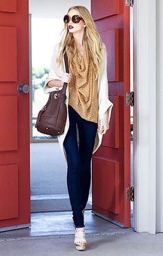 Rachel Zoe Resort Fashion Collection for 2012 Look Fashion, Fashion Show, Fashion Tips, Fashion Trends, Winter Fashion, Fashion Glamour, Fashion Styles, Street Fashion, Fashion Design