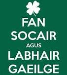 fan socair agus labhair gaeilge - Keep calm and speak Irish