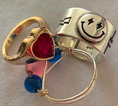 Cute Jewelry, Jewelry Rings, Jewelry Accessories, Estilo Indie, Bling, Accesorios Casual, Or Antique, Ring Necklace, Swagg