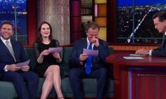 'Downton Abbey' Stars Speak In American Accents, Lose Their Cool