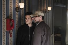 USA Network released the Mr. Robot TV show's second season premiere online, early. Did you get to watch it, before they took it down? Mr Robot Season 2, Robot Tv Show, Carly Chaikin, Christian Slater, Usa Network, Rami Malek, Season Premiere, Second Season, Filming Locations