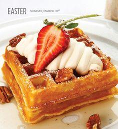 Wolfgang Pucks waffles!!!