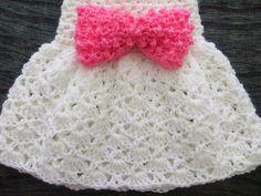 baby crochet skirt pattern | ... , Crochet Baby Dress Pattern, Sizes Newborn to 2 Years, Pdf Pattern