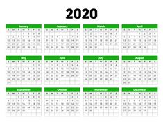 This calendar for 2020 gives you a great overview of the full year and unlike other plain calendars this one has a splash of color. Paper size: US Letter. Document width and height: 11 by inches. 2020 Calendar Template, Calendar 2020, Meaningful Pictures, My Little Pony Party, Paper Size, Color Splash, Templates, Lettering, Biblical Art