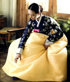Hanbok color combo
