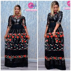 Tabaski This collection of Mifa captivates fashion fans … African Dresses For Women, African Print Dresses, African Print Fashion, African Attire, African Fashion Dresses, Hijab Fashion, Fashion Outfits, African Prints, African Blouses