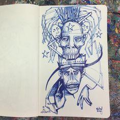 Angry Saint #drawing