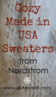 10 Made in USA Sweaters We Love Spotted at Nordstrom