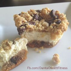 Low Carb Cookie Dough Cheesecake-I would use stevia, great idea for protein/ refeed days.