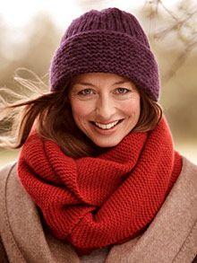 Knitting: Grátis: tricô padrão para a moda inverno (página 7) - BRIGITTE