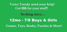 We are always looking for new things! No appointment needed!