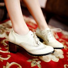 British Style Carved Classy Lace up Oxford Shoes a9593742d
